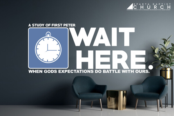 Series: Wait Here: When God's expectations do battle with ours